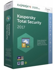 Kaspersky Total Security 2017 3 Geräte 1 Jahr Code in a Box, Deutsch (KL1919GBCFS-7)