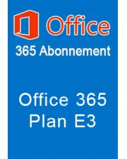 Microsoft Office 365 Plan E3 1 Jahr Abonnement Open License (Q5Y-00003)