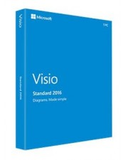 Microsoft Visio 2016 Standard Download Win, Multilingual