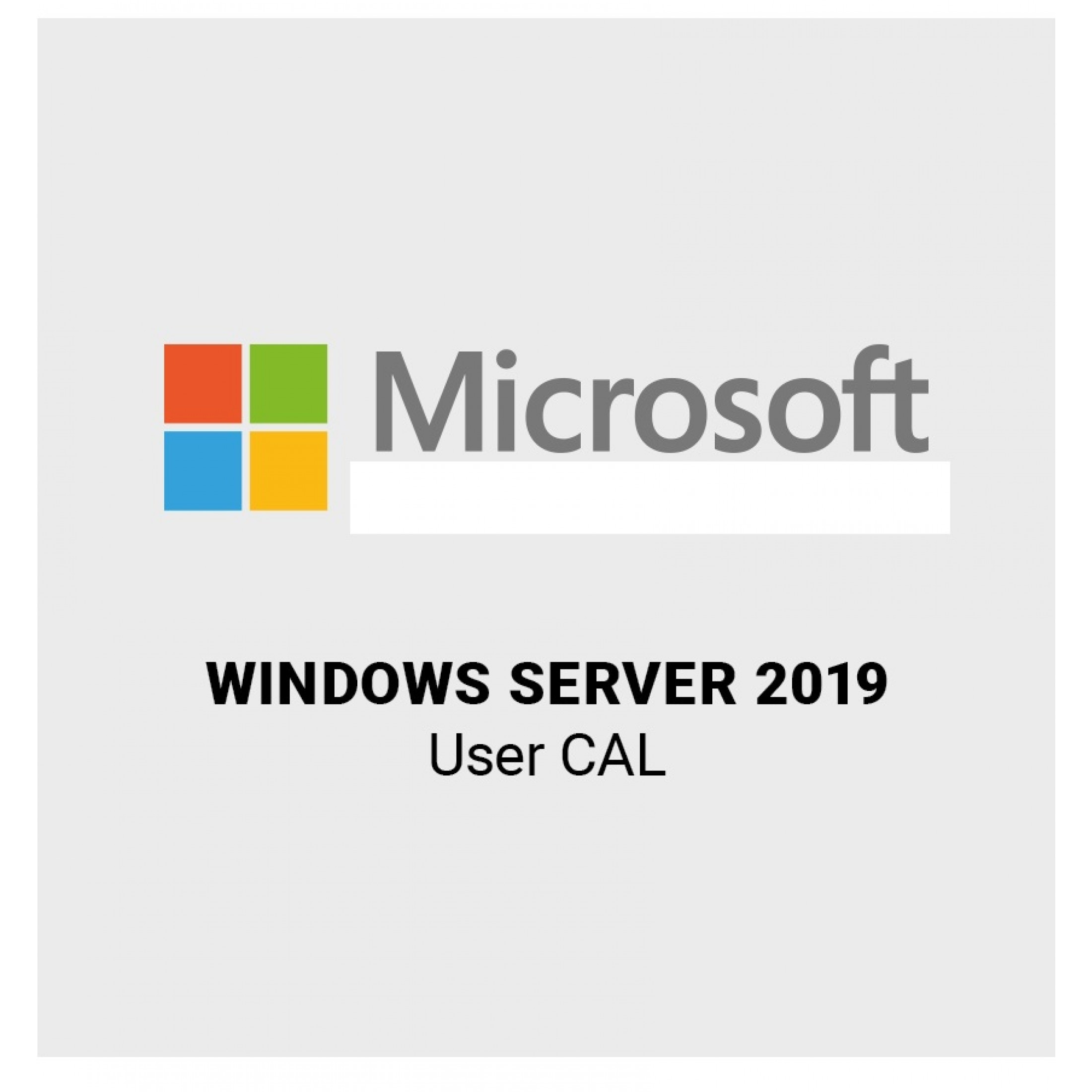 Microsoft Windows Server 2019 5 User / Benutzer CAL SB/OEM, Deutsch