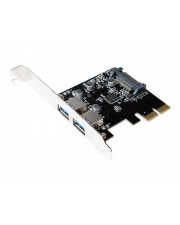 LogiLink PCI Express Card 2x USB 3.1 USB-Adapter PCIe 2.0 x2 x 2