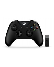 Microsoft Xbox Controller + Wireless Adapter for Windows 10 Game Pad kabellos Bluetooth für PC One S X