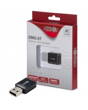 Inter-Tech Wireless+ Bluetooth USB Adapter DMG-07 650Mbps retail Kabellos