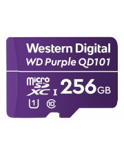 WD Purple 256GB Surveillance microSD XC Class 10 UHS 1 Flash-Speicher unsortiert (WDD256G1P0C)