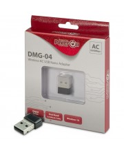 Inter-Tech Wi-Fi 5 USB Nano Adapter DMG-04 Stick 650Mbps