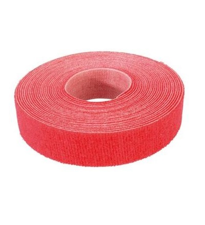 VELCRO ONE-WRAP 5m unperfor. rot Rot