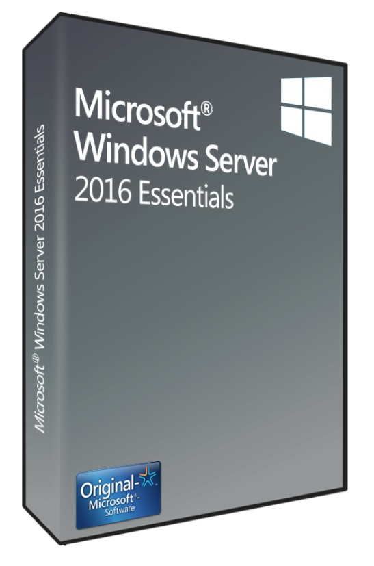 Microsoft Windows Server 2016 Essentials 1-2 CPUs SB/OEM, Englisch