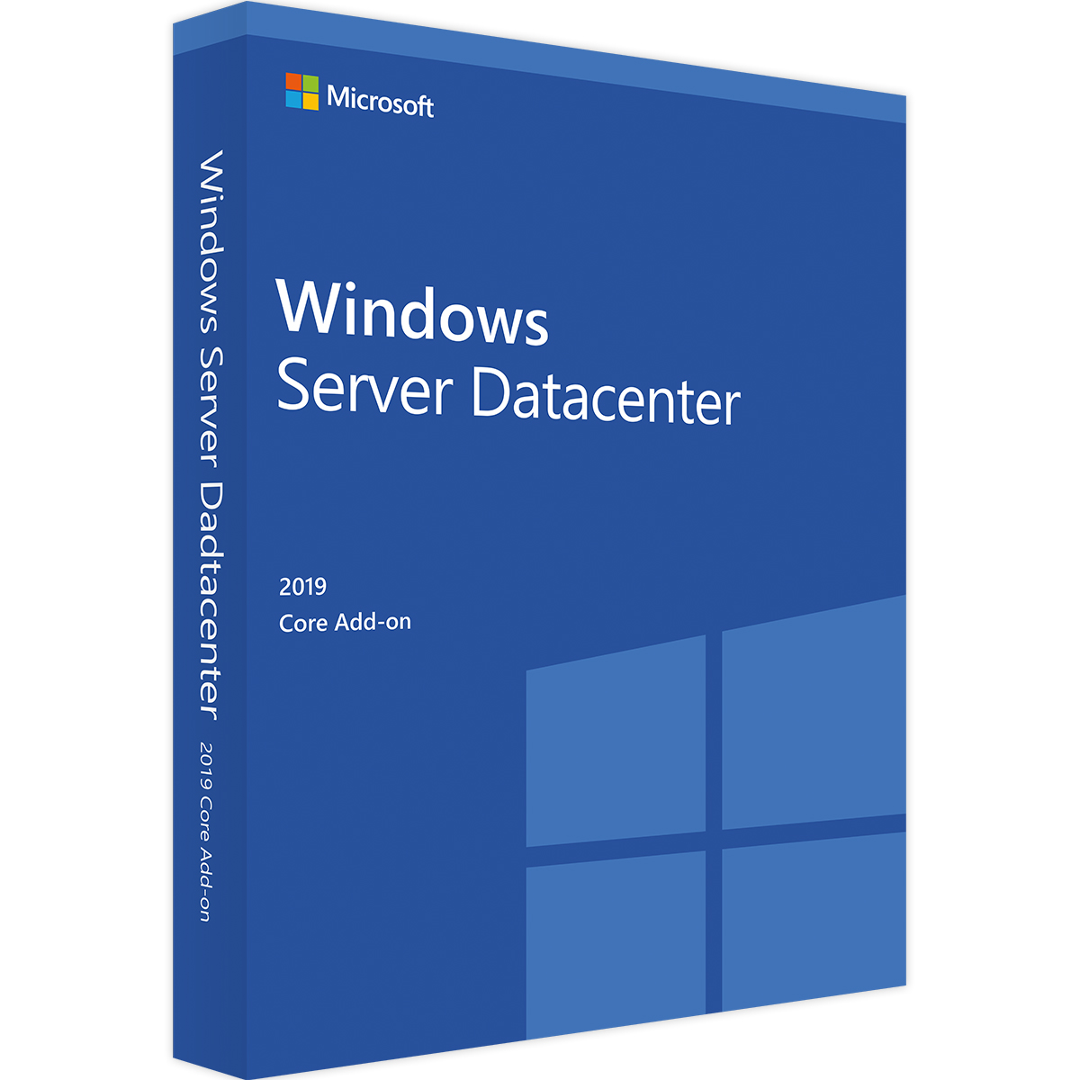 Microsoft Windows Server Datacenter 2019 64Bit 16 Core DVD SB/OEM, Deutsch