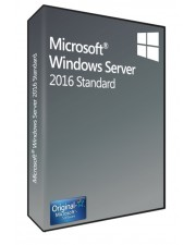 Microsoft Windows Server 2016 Standard 16 Core SB/OEM, Deutsch (P73-07115)