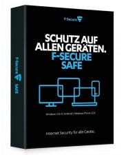 F-Secure Safe 1 User 1 Jahr, Download, Win/Mac/Android, Multilingual (FCFXBR1N001E1)