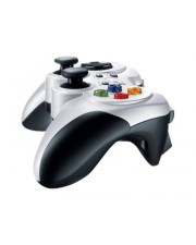 Logitech Wireless Gamepad F710 Game Pad 10 Tasten kabellos 2.4 GHz für PC (940-000142)