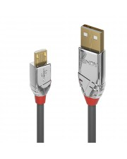 Lindy 1m USB 2.0 Typ A an Micro-B Kabel Cromo Line Digital/Daten