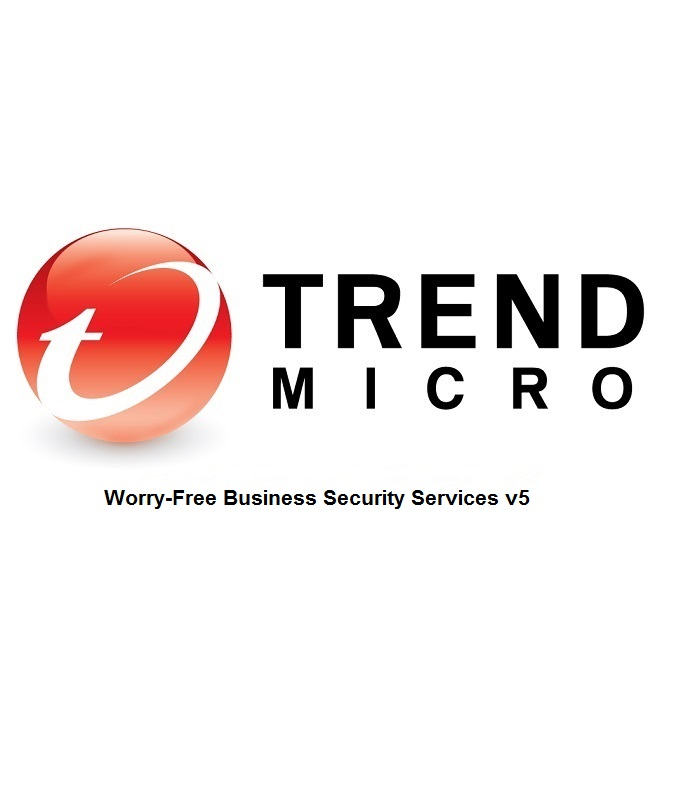 Trend Micro Worry-Free Business Security Services v5 Lizenzstaffel 1 Jahr GOV WIN Multilingual (2-5 User)