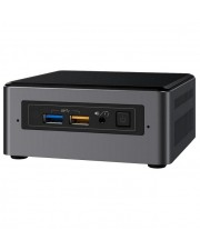 Intel Next Unit of Computing Kit NUC7CJYH Barebone Mini-PC Celeron J4005 2 GHz HD Graphics 600 GigE, Bluetooth 5.0 (BOXNUC7CJYH2)