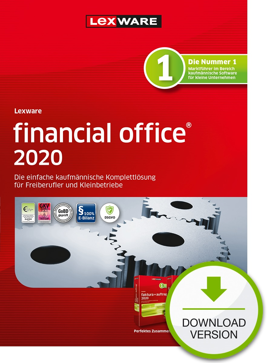 Lexware financial office 2020 1 Jahr 1 Benutzer Download Win, Deutsch