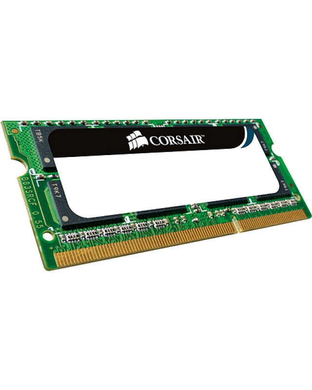 Corsair DDR3 8 GB SO DIMM 204-PIN 1333 MHz / PC3-10600 - CL9 - 1.5 V - ungepuffert - nicht-ECC