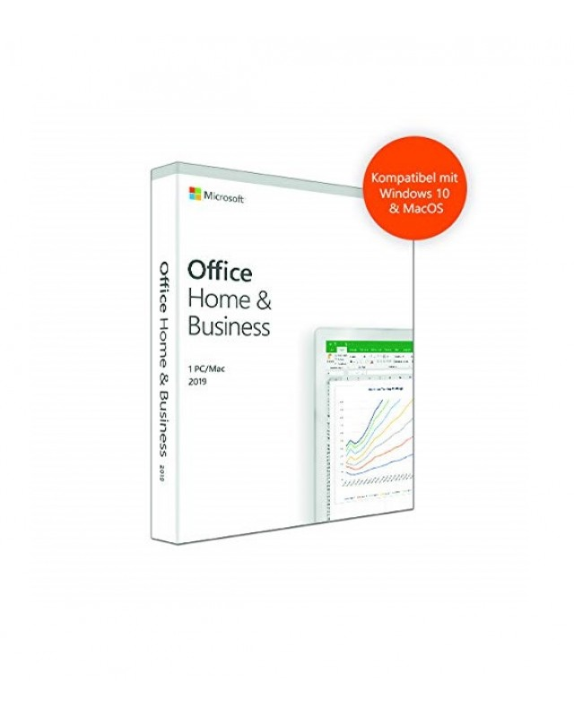 Microsoft Office 2019 Home & Business Download Win/Mac, Multilingual