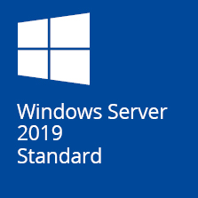 Microsoft Windows Server Standard 2019 64Bit 16 Core DVD SB/OEM, Englisch