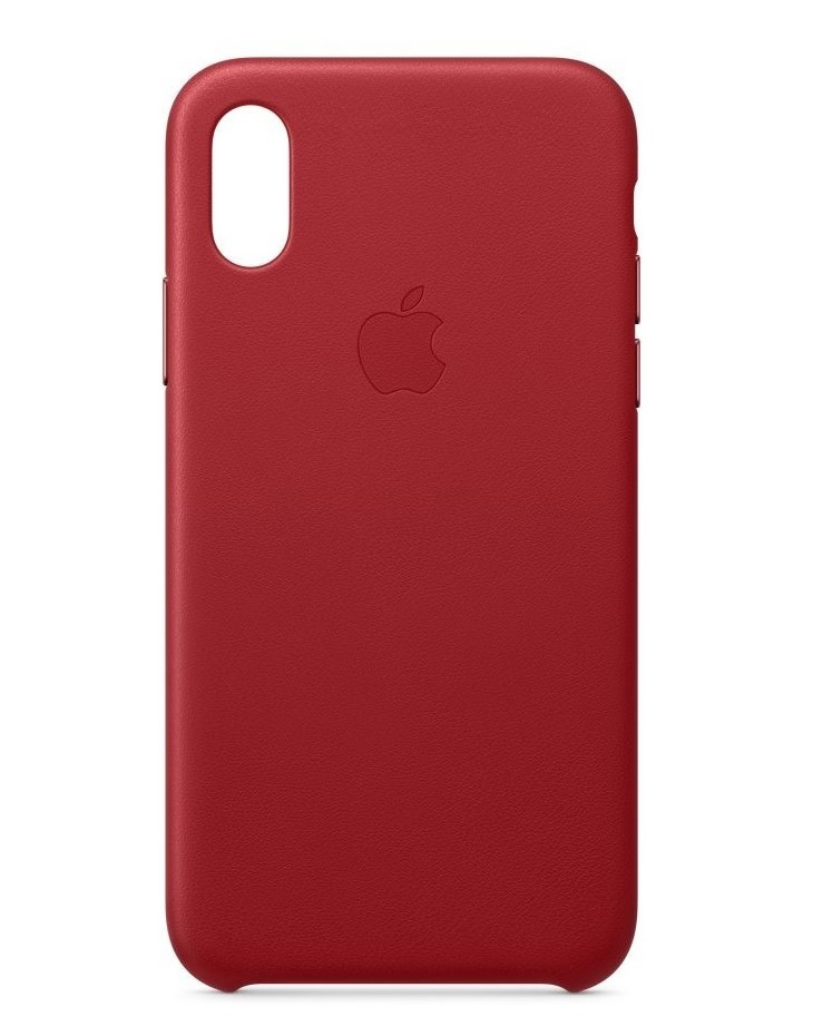Apple iPhone Xs Leather Case PRODUCT Red Smartphone (MRWK2ZM/A)