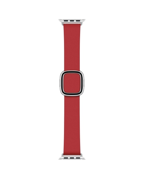 Apple 40mm Scarlet Modern Buckle Small Armband