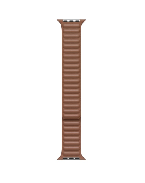 Apple 40mm Saddle Brown Leather Link L Braun