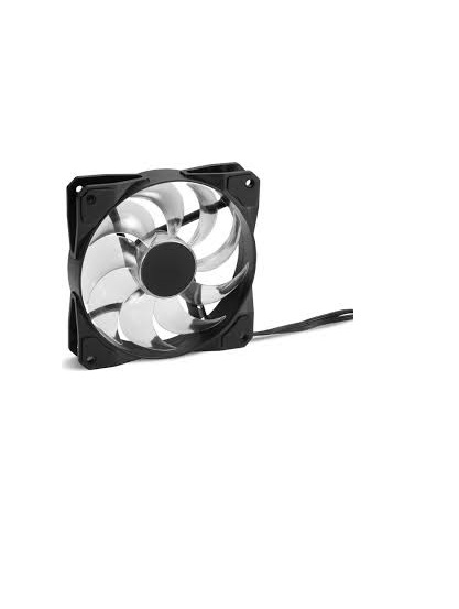 Sharkoon Pacelight RGB FAN F1 schwarz/transparent Gehäuse-Lüfter 54,84 cfm