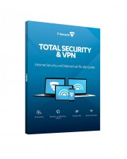 F-Secure Total Security & VPN 3 PCs 2 Jahre Multiplatform Multilingual (FCFTBR2N003D7)