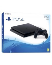 Sony PlayStation 4 Spielkonsole HDR 500 GB HDD Jet Black