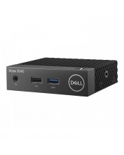 Dell Wyse 3040 Thin Client DTS 1 x Atom x5 Z8350 / 1.44 GHz RAM 2 GB Flash eMMC 8 HD Graphics 400 GigE OS Monitor: keiner BTS mit 3 Years Collect and Return Service