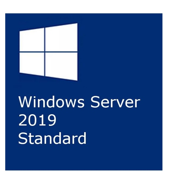 Microsoft Windows Server Standard 2019 64Bit 24 Core DVD SB/OEM, Englisch