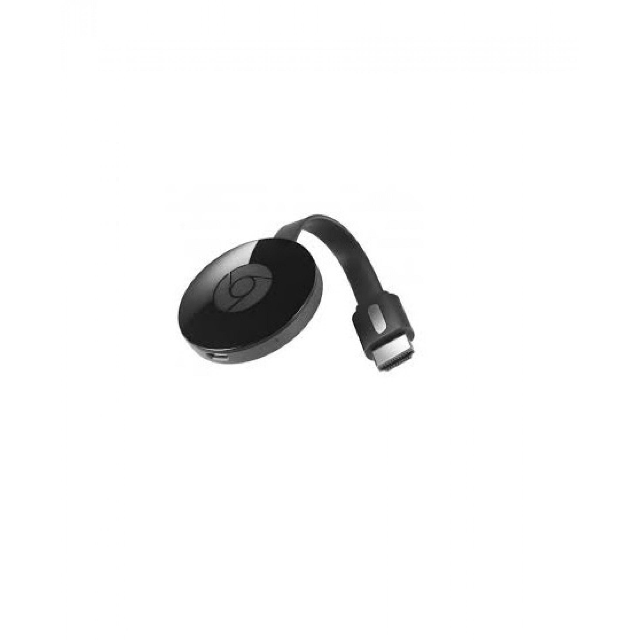 Google Chromecast Streaming Media Player HDMI WLAN 20. Generation USB  Schwarz GA004209 DE