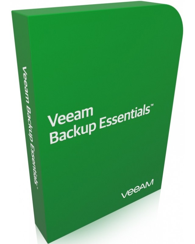 Veeam Backup Essentials Standard Bundle 2 CPU inkl. 1 Jahr Maintenance Download Lizenz, Multilingual