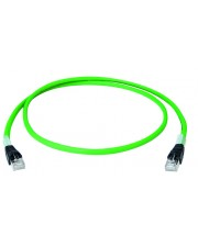 Telegärtner Karl Gärtner 2 m Cat6a S/FTP S-STP RJ-45 Grün Patchkabel Cat.6A 4x2xAWG26/7 PUR IP20-IP20 2,0 m
