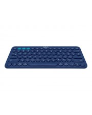 Logitech Multi-Device K380 Tastatur Bluetooth UK Englisch Blau