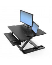 "Ergotron WorkFit-TX Computertisch Schwarz Standing Desk Converter 30"" max 4.5-18.1 kg black"