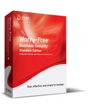 Trend Micro Worry-Free Business Security Standard v. 9.x Wartung Erneuerung 16 Monate 1 Benutzer Volumen 251-1000 Lizenzen Win Mac Multilingual (CS00899674)