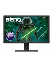 "BenQ GL2480E LED-Monitor 61 cm 24"" 1920 x 1080 Full HD 1080p @ 75 Hz TN 250 cd/m² 1000:1 1 ms HDMI DVI VGA Schwarz EEK: A+ (9H.LHXLB.FBE)"