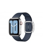 Apple 40mm Deep Sea Blue Modern Buckle Large Blau