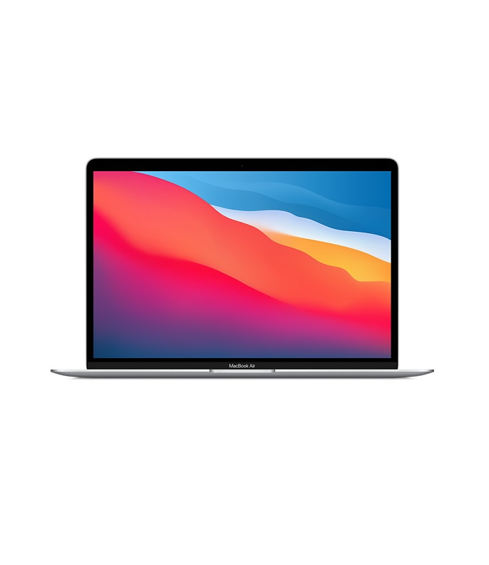 "Apple MacBook Air M1 8-Core 256 GB SSD 8GB RAM 33 cm 13,3 "" WQXGA 2560x1600 Mac OS Silber"