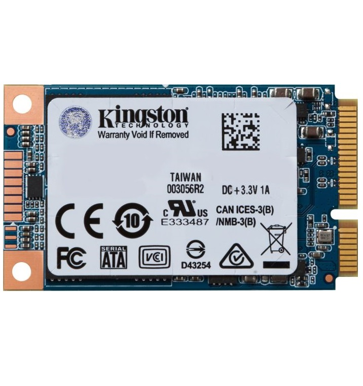 "Kingston SSD UV500 120 GB mSATA SATA 6Gb/s Festplatte 1,8"" 256-Bit-AES Intern"