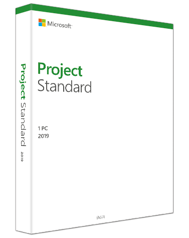 Microsoft Project Standard 2019 PKC, Deutsch