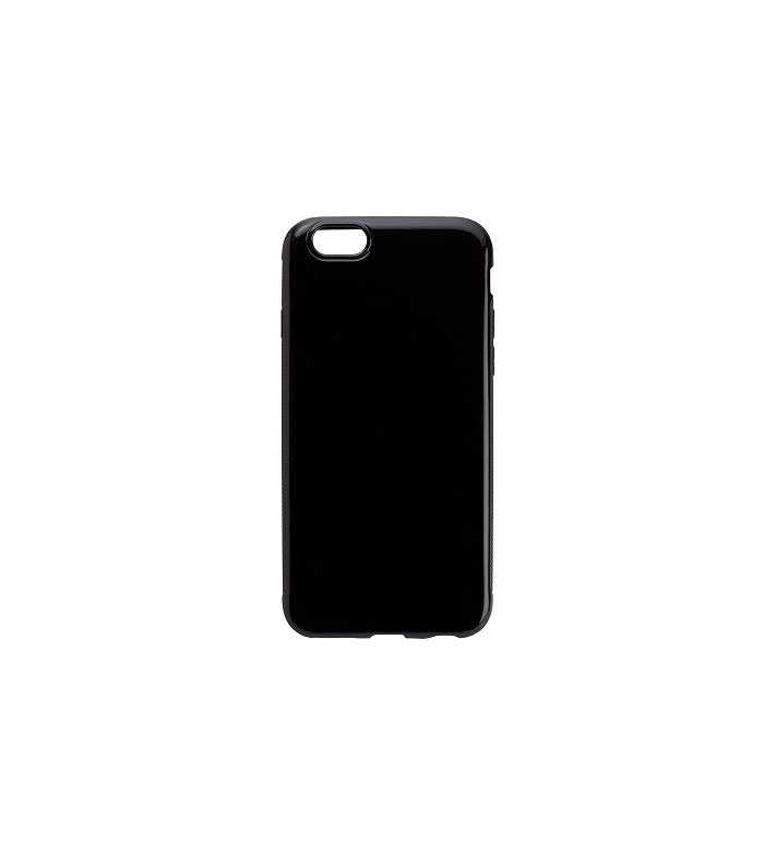 Peter Jäckel PROTECTOR Solid Case für Apple iPhone 6/ 6S Black Kunststoff Schwarz 6 (14338)