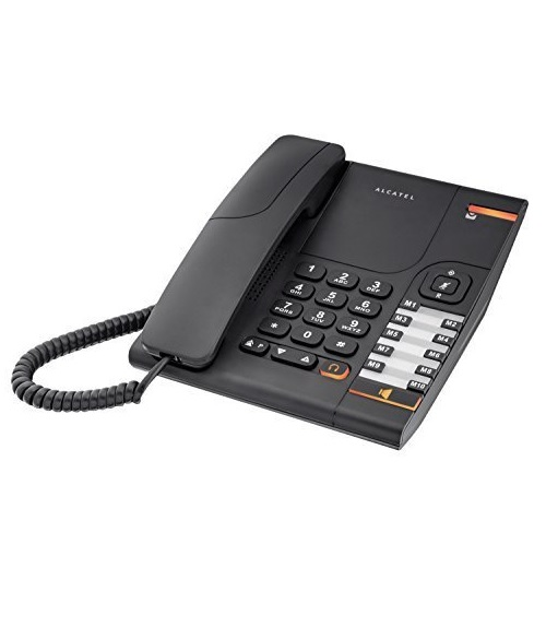 Alcatel Temporis 380 Analog-Telefon Tone/Pulse RJ11 Handsfree Schwarz