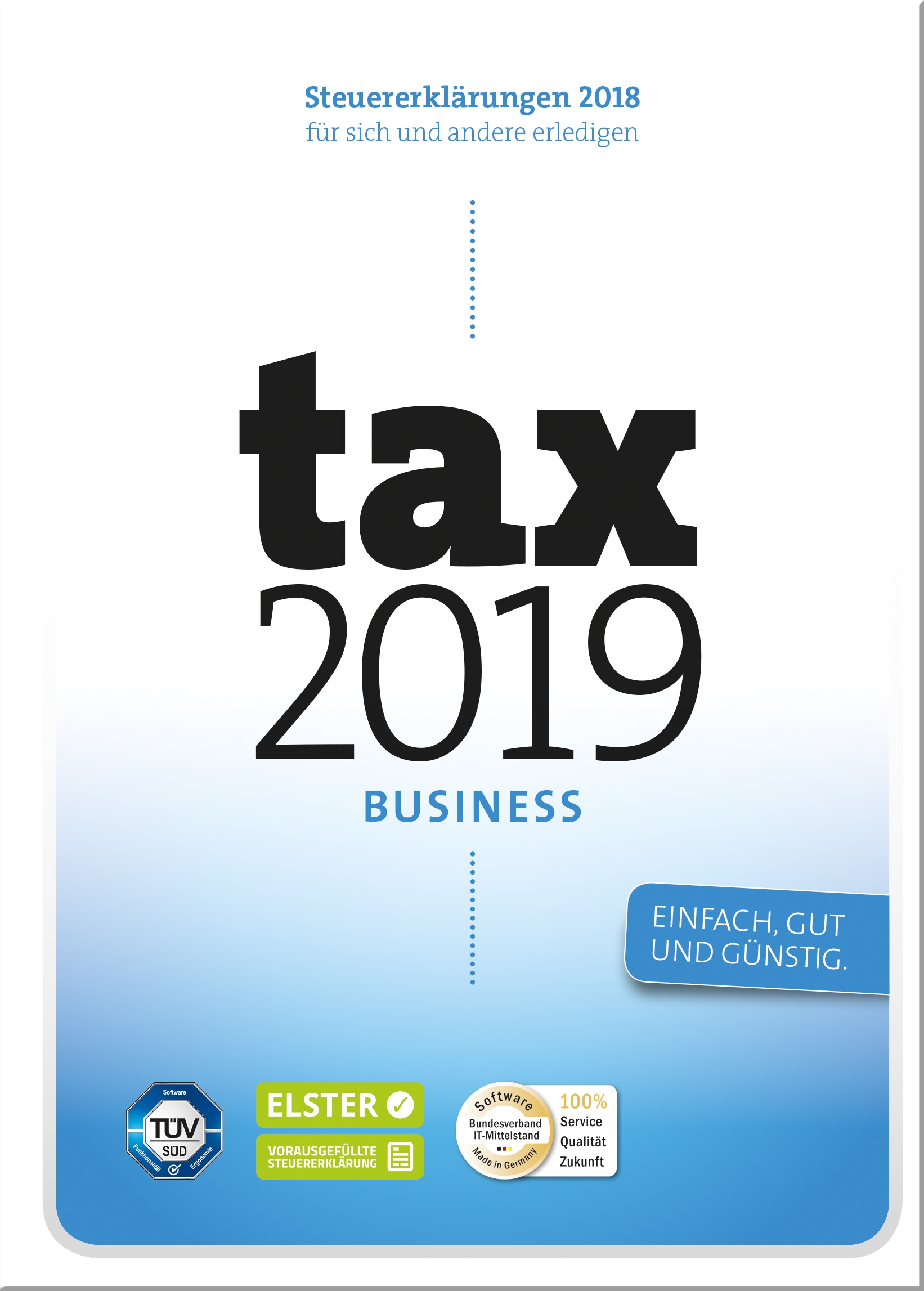 WISO tax 2019 Business Steuerjahr 2018 Win, Deutsch (KW42729-19)