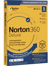 Symantec NORTON 360 Deluxe 50 GB 1 User 5 Device 1 Jahr Security Updates Download Deutsch (21394996)