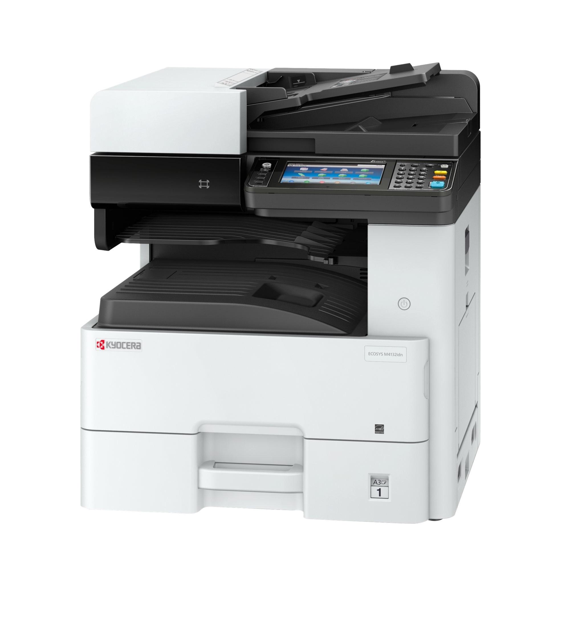 drucken bis zu 60 Seiten//Minute, Formate bis A3, 1.200 dpi, Duplex Kyocera Ecosys P8060cdn Farblaserdrucker