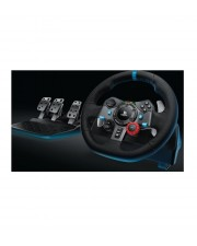 Logitech G29 Lenkrad + Pedale PC PlayStation 4 Playstation 3 Schwarz Driving Force Racing Wheel f/ PS3/PS4 Windows 7/8/8.1 (941-000113)