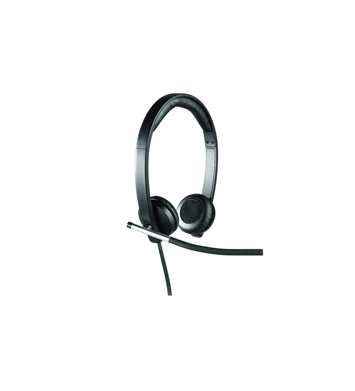 Logitech Headset Stereo H650e 2 MP 1280 x 720 Audio USB mit