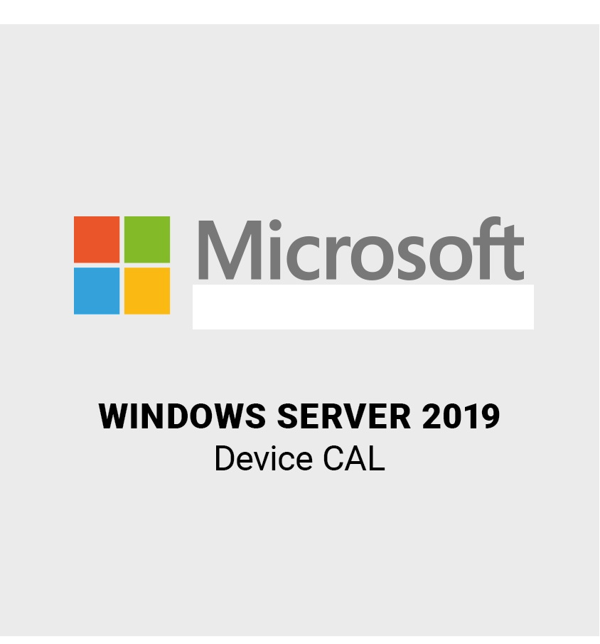Microsoft Windows Server 2019 5 Device / Geräte CAL SB/OEM, Englisch (R18-05829)