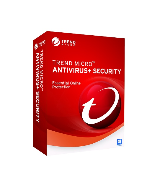 Trend Micro Antivirus+ 2020 3 PCs 2 Jahre Download Win, Multilingual